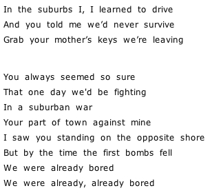 Lyrics « Arcade Fire